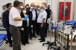 وزيرة الصحة تفتتح مستشفى دورا الحكومي جنوب الخليل