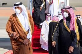 ولي عهد السعودية يجتمع بأمير قطر عقب القمة الخليجية