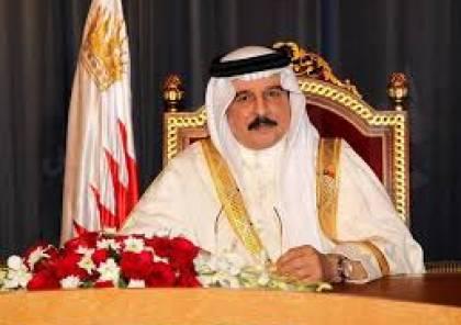 العاهل البحريني يؤكد دعمه لحل الدولتين: اتفاق السلام مع إسرائيل جاء مقابل وقف ضم أراض فلسطينية