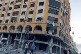 """غزة: """"الأشغال"""" تقرر إزالة برج الجوهرة"""