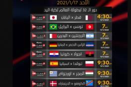 مشاهدة مباراة البحرين والأرجنتين بث مباشر في كأس العالم لكرة اليد 2021
