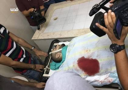 صور: استشهاد شاب بالعيزرية والاحتلال يعتدي على المعتصمين عند باب الأسباط