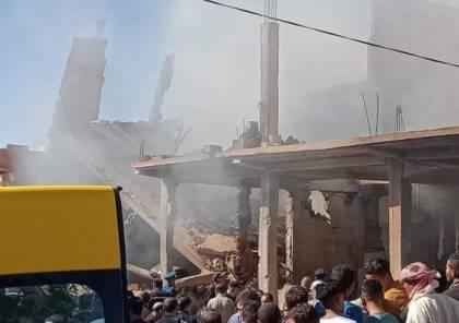 فيديو...انفجار ضخم لأنبوب غازي في ولاية البيض بالجزائر يودي بحياة 5 أشخاص و8 اصابات