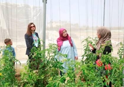 """زيارة تفقدية لمشاريع زراعية مدرة للدخل ضمن برنامج """"وجد"""" لرعاية الأيتام"""