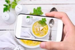 إلتقط الصور لطعامك لكي تتخلص من الوزن الزائد !