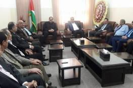 صور: وزير التربية والتعليم يصل غزة على رأس وفد يضم 15 شخصية