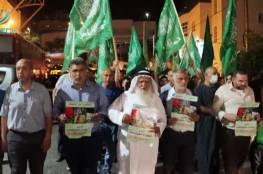 مسيرة في الخليل دعماً للأسير المضرب مقداد القواسمة