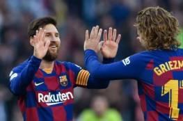 فيديو.. سوبر هاتريك ميسي يعيد برشلونة لصدارة الليجا