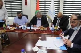 توقيع مذكرة تفاهم لاستئناف العمل بمشروع محطة المعالجة في محافظة الخليل