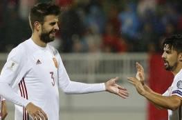 بيكيه : يتهم ريال مدريد بإيقاف ميسي مع المنتخب