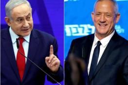 استطلاع إسرائيلي: تراجع كبير لغانتس أمام نتنياهو في حال إجراء انتخابات