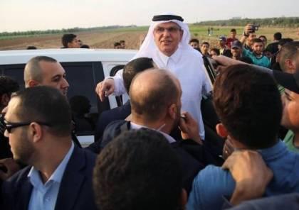 السفير العمادي يغادر قطاع غزة.. والاعلام الاسرائيلي يتحدث عن نقله رسالة لاسرائيل