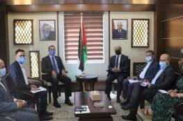تفاصيل لقاء العطاري مع مدير برنامج الأغذية العالمي بفلسطين