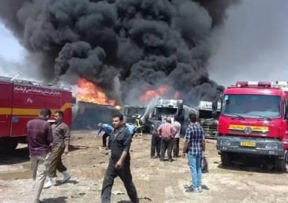 حريق في كرمانشاه: السلطات الإيرانية تنفي عملا متعمدا