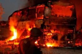 شاهد ..المقاومة تستهدف حافلة جنود اسرائيليين في غلاف غزة ومقتل مستوطن في عسقلان