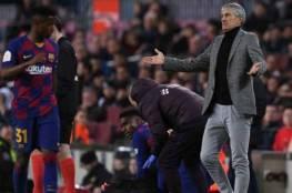 سيتيين يعترف : طلبت من إدارة برشلونة التعاقد مع مهاجم جديد