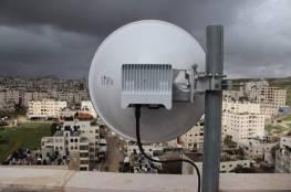 ضبط برج تقوية لشبكات اسرائيلية داخل خزان مياه برام الله