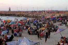 بلدية غزة تُصدر تنويهاً مهماً للمصطافين على شاطئ البحر