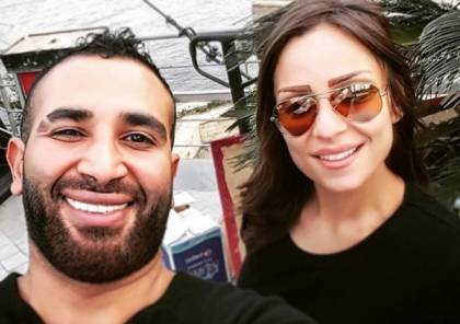 ريم البارودي تتحدى أحمد سعد بعد انفصالهما