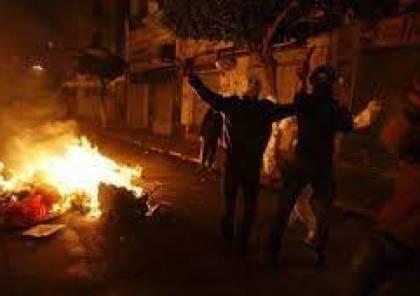 إصابات واعتقال شاب خلا مواجهات شمال بيت لحم