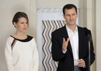 إصابة بشار الأسد وزوجته بفيروس كورونا