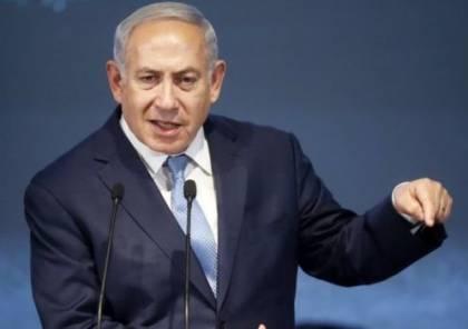 """نتنياهو يقر : إسرائيل استهدفت """"قواعد إيرانية"""" في العراق"""