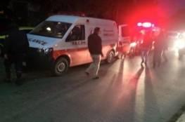 إصابات بحادث سير في جنين