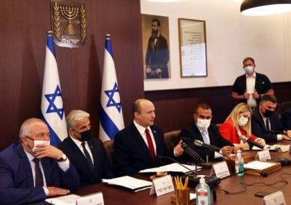 العليا الإسرائيلية ترد الالتماسات ضد حكومة التناوب