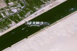 الإعلام العبري: السفينة الجانحة في قناة السويس زحزحت عن مكانها لأول مرة
