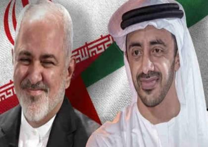 تقرير : لقاء ظريف بن زايد هو الارفع مستوى بين البلدين بشكل علني