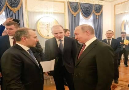 مسؤول إسرائيلي اجتمع بوزير الخارجية اللبناني بروسيا وهذا ما تم بحثه
