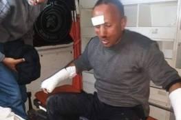 إصابة رجل إطفاء والدفاع المدني ينفذ 75 مهمة في قطاع غزة