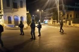 الاحتلال يقمع مسيرة اسناد للأسرى قرب المدخل الشمالي لبيت لحم