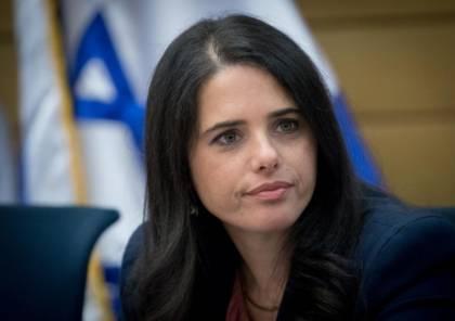 شاكيد: حكومة نتنياهو فشلت في كل المجالات وإسرائيل تستحق قيادة مختلفة
