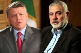 هنية يوجه رسالة إلى العاهل الأردني بشأن قمة الرياض