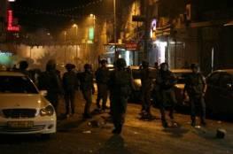 46 اصابة بينهم طفلة خلال مواجهات اندلعت مع الاحتلال بالعيزرية