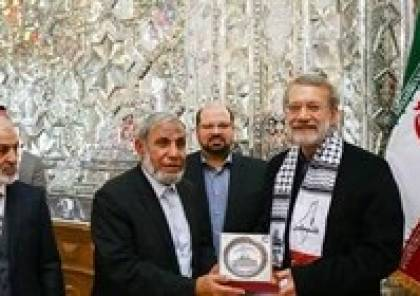 وفد حماس برئاسة الزهار يدعو لاريجاني لزيارة غزة