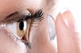 سوء استخدام العدسات اللاصقة يسبب العمى !
