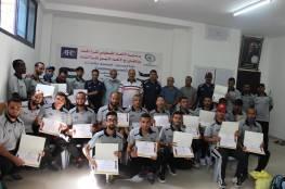 """اختتام دورة المدربين """"C"""" في غزة (صور)"""