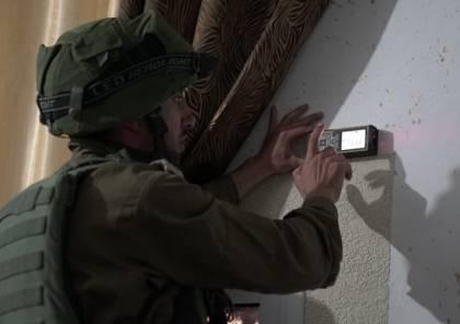 الاحتلال ياخذ قياسات منزل منفذ عملية عتصيون تمهيدا لهدمه