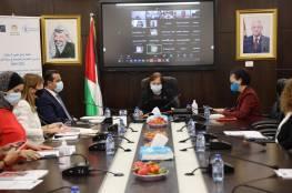 """""""الصحة"""" تطلق """"خطة عمل تغيير السلوك: تحسين التغذية والصحة في دولة فلسطين 2021- 2024"""""""