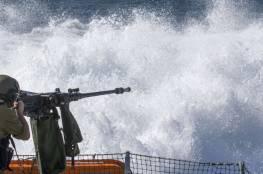 زوارق الاحتلال تطلق النار صوب الصيادين ببحر غزة