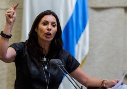 وزيرة إسرائيلية: ليس الشعب ولا ليبرمان بل الرب هو من سيختار رئيساً جديداً للحكومة