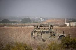 صورة.. الاحتلال يزعم العثور على عبوات ناسفة عند حدود غزة