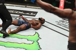 """شاهد.. الضربة القاضية"""" لا تصدق والاكثر روعة """"في تاريخ  منظمة UFC"""