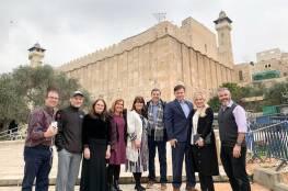 """أعضاء في الكونغرس الأميركي يتجولون بالضفة ويعتبرونها جزءًا من """"إسرائيل"""""""