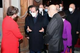 توافق بين مصر وفرنسا على إعادة المفاوضات لحل عادل وشامل يضمن حقوق الشعب الفلسطيني