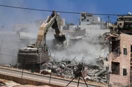 """الاحتلال يخطر بوقف بناء """"بركس"""" في خلة حسان غرب سلفيت"""