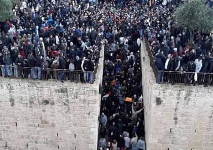 الاحتلال اعتقل 315 مقدسياً منذ أحداث باب الرحمة