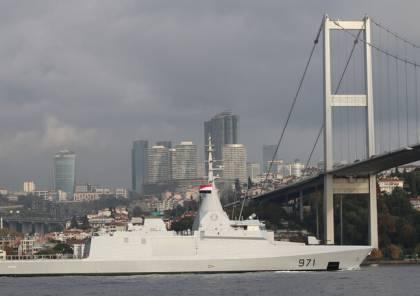 الجيش المصري يعلن وصول سفنه الحربية للبحر الأسود وانطلاق تدريباته مع روسيا